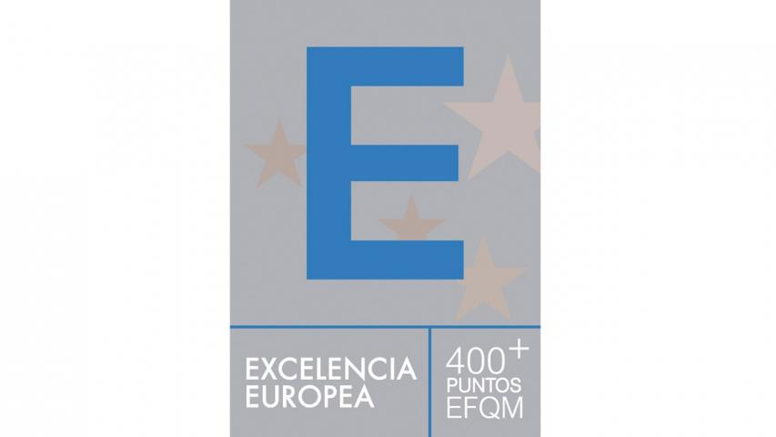 Sello de Excelencia Europea EFQM 400+